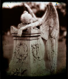 Angel of grief- it's beautifully tragic
