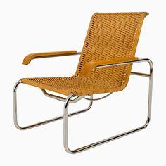 Vintage B 35 Sessel von Marcel Breuer für Thonet, 1970er Jetzt bestellen unter: https://moebel.ladendirekt.de/kueche-und-esszimmer/stuehle-und-hocker/armlehnstuehle/?uid=b367f6fd-a0aa-5851-853d-2eab71c4669e&utm_source=pinterest&utm_medium=pin&utm_campaign=boards #kueche #esszimmer #armlehnstuehle #hocker #stuehle