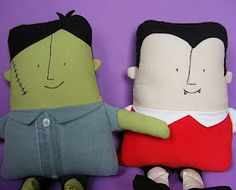 diy monster dolls- check out later