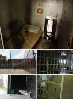 West Virginia Penitentiary, Moundsville  -behind locked doors