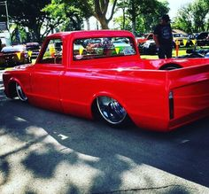 Hot Wheels- Yeah my man @c10_bestia_groundzero_cali repping that big lip style! His C10 is looking so bad ass in this shot right? #chevrolet #gmc #c10 #stance #streetrod #streetmachine #carporn #streettruck #hotrod #airsuspension #bagged #layframe...