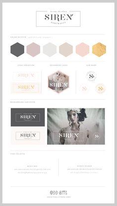 Siren - Logo Concept Board