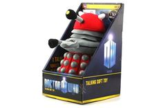 EXTERMINATE... boredom! With this Red Dalek talking plush, it's as if you have a friend... for real! #NeatoPinToWin