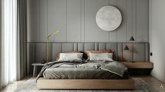 Master Bedroom Interior, Home Room Design, Master Bedroom Design, Home Bedroom, Modern Bedroom, Home Interior Design, Bedroom Furniture, Bedroom Decor, Furniture Design