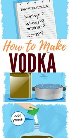 You can make your own vodka and store it as a barter item. Alcohol will be in short supply and in a-SHTF situation. Homemade Alcohol, Homemade Liquor, Alcohol Recipes, Wine Recipes, Whiskey Recipes, Brewing Recipes, Homebrew Recipes, Vodka Recipes, Martini Recipes
