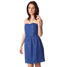 Now available on our store: Electric blue str... Check it out here! http://coco-glam-boutique.myshopify.com/products/electric-blue-strapless-party-dress?utm_campaign=social_autopilot&utm_source=pin&utm_medium=pin