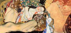 To έργο του είναι άμεσα αναγνωρίσιμο. Ο Άντρας σχεδόν απουσιάζει στους πίνακές του, η γυναικεία παρουσία λάμπει, απογειώνεται, το χρυσό...