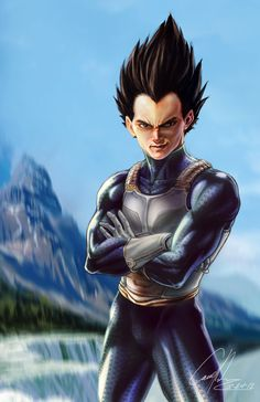 Here my second try for the realism DBZ character (vegeta) I thanks for all of the fans outthere that supported my Goku, and I know it has been awhile for the wait!! i finally be able to get to it f...