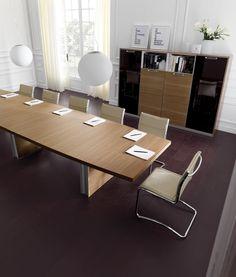 Havicmeubelen-kantoor.nl - Ipsos directiebureau - Directiebureaus - Directie Conference Room, Table, Furniture, Design, Home Decor, Room Decor, Meeting Rooms, Mesas, Home Furnishings
