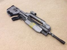 Halo 4 Full Size Replica BR85HB Battle Rifle Professionally Built Model Prop Gun | eBay