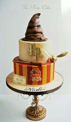Harry Potter birthday cake. Really well done