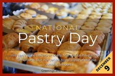 """""""We can't all be bakers or chefs. Many of us have modest ambitions. But, we can all buy a piece of the pie."""" -- Amah Lambert Celebrate National Pastry Day this December 9. #pastry #baker #pie National Celebration Days, Doughnuts, December, Pie, Jokes, Chefs, Celebrities, Pastries, Breakfast"""