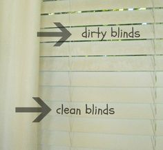 Clean Mini Blinds With Vinegar