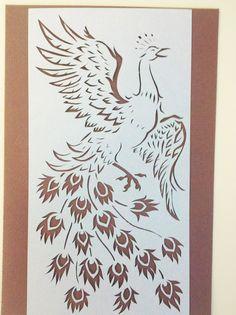 peacock cut-out by FireKat.deviantart.com on @DeviantArt