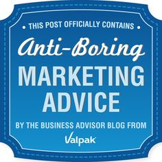 A UniqueThink tip was included on this list of 124 Not-So-Boring Marketing Ideas for Small Business from Really Smart Bloggers - check out the section called Social Media: 19 things you really need to know - #11- A free and easy marketing tip! Announce a last minute special for your Twitter followers as a way to quickly boost business. – from this post: Simple Low or No Cost Marketing Ideas for Restaurants http://uniquethink.com/simple-low-or-no-cost-marketing-ideas-for-restaurants/