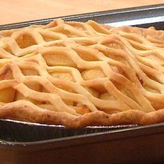 Maple-Bourbon Apple Pie