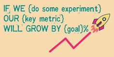 a simple marketing experiments hypothesis