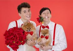 Dan and Phil on Valentines day
