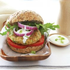 Falafel burgers | Healthy Food Guide