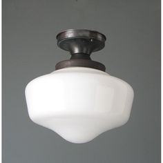 Antique Schoolhouse Light Fixture Have A Bunch Of These From Old Church In Lancaster