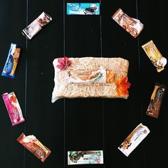 The array of flavors can make choosing one bar difficult, so we suggest trying all the flavors! Thanks for this great shot and layout Healthy Bars, Healthy Eating Recipes, Quest Nutrition, Protein Bars, Low Sugar, Low Carb, Gluten Free, Layout, Desserts