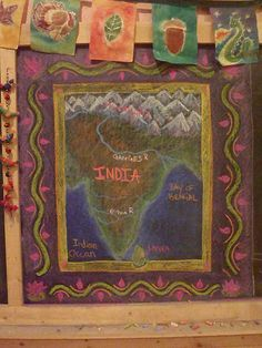 India - great way to do maps