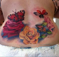 Butterflies and roses....2 of my favorite things :)