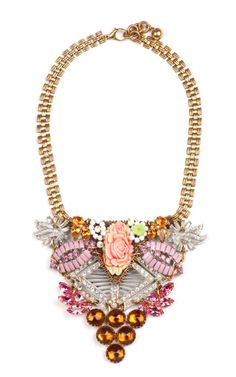 Lulu Frost 100 Year Necklace Featuring Vintage Parts From 1860-1960 - Moda Operandi