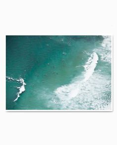 Motion This is Summer Fine Art Print Aerial Photography, Art Photography, Fine Art Prints, Waves, Summer, Outdoor, Outdoors, Fine Art Photography, Summer Time