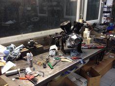 Tricana Motorcycle workshop Motorcycle Workshop, Espresso Machine, Coffee Maker, Motorcycles, Kitchen Appliances, Espresso Coffee Machine, Coffee Maker Machine, Diy Kitchen Appliances, Coffee Percolator