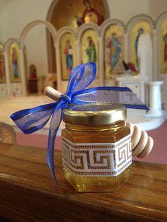 24+Qty+Greek+Baby+honey+shower+Baptismal+Bomboniere+by+holyhoney,+$89.00