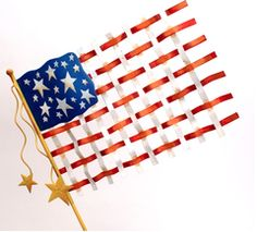 Americana, Memorial Day, Flag, Red, White, Blue, Stars, Stripes, 4th of July, July 4, The Round Top Collection