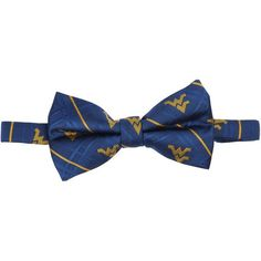 West Virginia Mountaineers Oxford Bow Tie - Blue - $19.99
