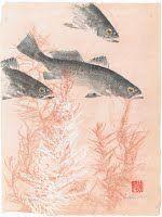 Gyotaku with Backgrounds - Examples of Gyotaku