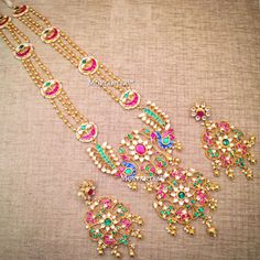 Monday blues!? Whats that?  One more for a beautiful South-Indian Bride  #mortantra #bridaljewellery