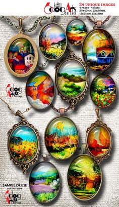 Jewelry Promote Your Lawn's Health You don't have to use chemicals to have a beautiful lawn. In fact Diy Resin Crafts, Diy Crafts To Sell, Diy Crafts For Kids, Paper Crafts, Image Collage, Resin Pendant, Digital Collage, Digital Art, Resin Jewelry