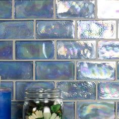 Monet Tiffany Lantern x Porcelain Mosaic Tile