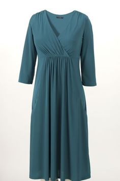 Pocket Surplice Dress from Monroe and Main