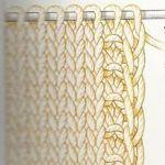 Les lisières La perfection des lisières est un aspect important du tricot : elles facilitent l'assemblage des différentes pièces et, si elles restent apparentes, ellesont un effet très décoratif. P...