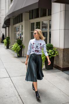 NYFW Street Style   KENZO