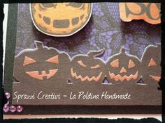 Halloween Scrapbooking Card