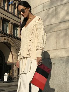 Spring Fashion, Knitwear, Street Style, Pullover, Instagram Posts, Sweaters, Inspiration, Outfits, Dresses