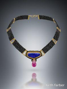 Purple Opal Choker