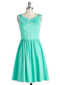 Dandelion Hearted Dress in Mint. This item is a new colorway of one of your favorite Be the Buyer picks! #mint #modcloth
