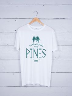 Through The Pines graphic T-shirt – The Level Collective