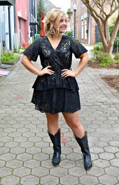 Shop Boutique dresses with Perfectly Priscilla, a trendy online boutique. Find the perfect dress for any occasion! Western Dress With Boots, Country Western Dresses, Country Girl Dresses, Dresses With Cowboy Boots, Cowgirl Outfits, Country Outfits, Cowgirl Boots, Bar Outfits, Summer Dress Outfits