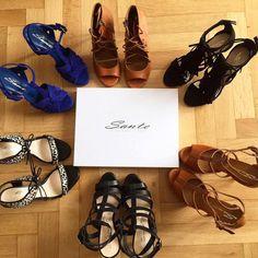 Addicted for SANTE shoes! (via: @fashionhasit) #SanteBloggersSpot Shop NOW: www.santeshoes.com