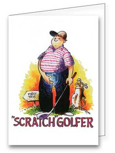24 best golf greeting cards images on pinterest golf greeting find the scratch golfer greeting card and many others at greetings4golfers m4hsunfo