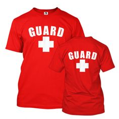 LIFEGUARD Hoodie 6 inch tall letters 2 Options front or back /& front Lettering