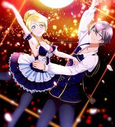 Ensembles stars x Love live  Sena Izumi and Eli Ayase